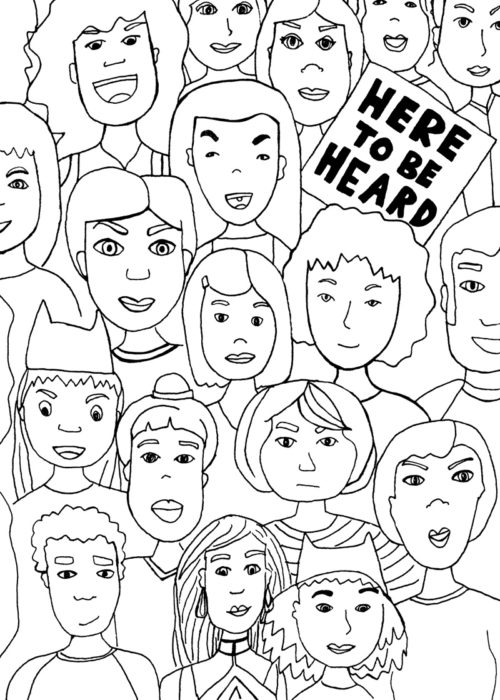 Here To Be Heard Poster